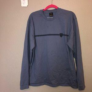 NIKE LACROSSE Long Sleeved Blue Shirt
